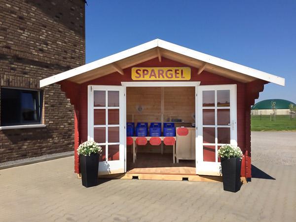 Spargel Verkauf in Euskirchen Büllesheim